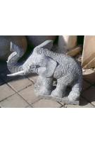 Éléphant granit