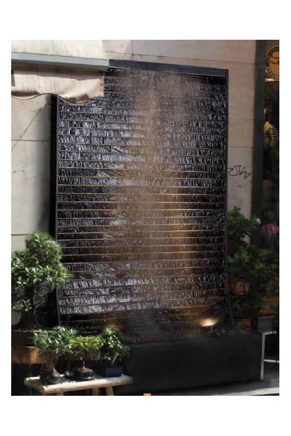 c sar black fontaine mur d 39 eau l 39 esprit pierre. Black Bedroom Furniture Sets. Home Design Ideas
