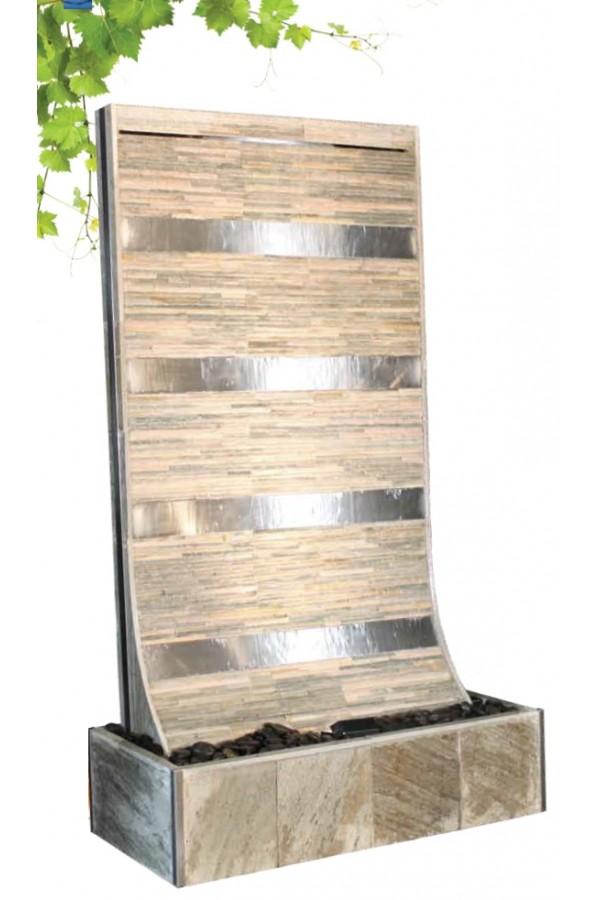 c sar white fontaine mur d 39 eau l 39 esprit pierre. Black Bedroom Furniture Sets. Home Design Ideas