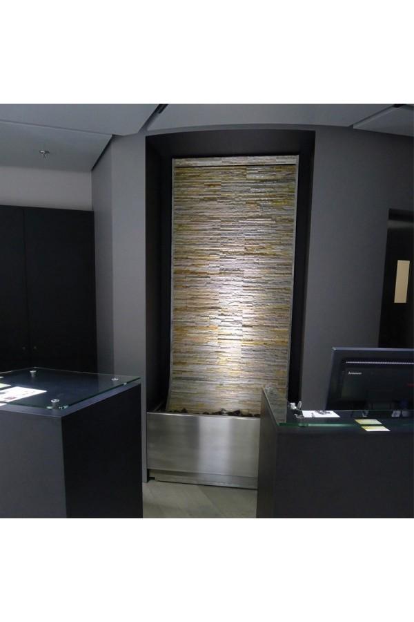 quartz fontaine mur d 39 eau l 39 esprit pierre. Black Bedroom Furniture Sets. Home Design Ideas