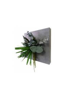 Tableau végétal Eco béton