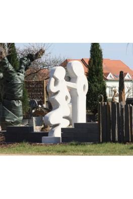 """Couple"" en granit"