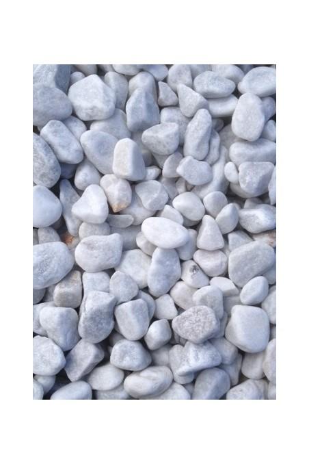 Galets Blanc gris 25/40mm